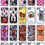 case iphone 5เคสไอโฟน5 เคสยอดนิยม CHOCOOLATE BABYMILO เคสลายการ์ตูนน่ารักๆ แนวๆ ขอบดำสวยๆ