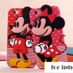 เคส iphone 5s / 5 ซิลิโคน 3 มิติ การ์ตูนน่ารักสดใส ราคาส่ง ขายถูกสุดๆ -B-