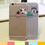 case iphone 5s / 5 ซิลิโคน TPU สกรีนลายน้องหมาน้อยสุดน่ารัก ราคาส่ง ขายถูกสุดๆ