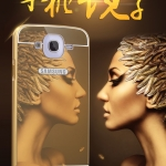 Case Samsung Galaxy Mega 5.8 แบบประกอบ 2 ชิ้น ขอบเคสโลหะ Bumper + พร้อมแผ่นฝาหลัง เงามงามสวยหรูมากๆ ราคาถูก