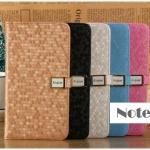 case note 3 เคส Samsung Galaxy note 3 AiQier เคสกระเป๋าหนังฝาพับแบบาง หนังเป็นลายรังผึ้งสีเหลือบสวยๆ เคสมือถือราคาถูกขายปลีกขา
