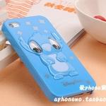 case iphone 4 เคสไอโฟน4s Stitch สีหวานๆ เงาๆ ดูน่ารักๆ คุณหนูๆ