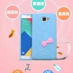 เคส Samsung Galaxy A9 Pro ซิลิโคน TPU สีพาสเทลโบว์น่ารักๆ ราคาถูก (ไม่รวมสายคล้อง)
