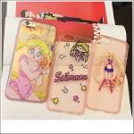 เคส iPhone SE / 5s / 5 ซิลิโคน TPU สกรีนลายเซเลอร์มูนแสนน่ารัก ราคาส่ง ขายถูกสุดๆ