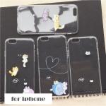 เคส iPhone SE / 5s / 5 ซิลิโคน TPU โปร่งใสสกรีนลายแมวน้อยน่ารักมากๆ ราคาส่ง ขายถูกสุดๆ