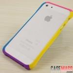 case iphone5 เคสไอโฟน5 ขอบเคสแยกประกอบ 4 ชิ้น 4 สี สลับสี แนวๆ สีหวาน น่ารักๆ collision color the iPhone5 waistline bumper