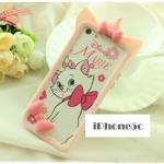 เคส iphone 5c เคสไอโฟน5c ขอบเคส bumper 3D การ์ตูน Disney น่ารักๆ มินนี่เม้าส์ มิกกี้เมาส์