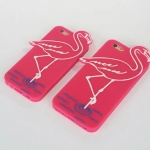 Case iPhone 6s Plus,6 Plus (5.5 นิ้ว) ซิลิโคน TPU 3 มิติ นกฟามิงโก แสนน่ารัก สุดฮิต ราคาถูก