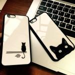 เคส iPhone 6 / 6s (4.7 นิ้ว) พลาสติกลายแมวน้อยแสนน่ารัก ราคาถูก (ไม่รวมสายคล้อง)