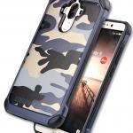 Case Huawei Mate 9 เคสกันกระแทกแยกประกอบ 2 ชิ้น ด้านในเป็นซิลิโคนสีดำ ด้านนอกพลาสติกลายทหาร ลายพราง สวย แกร่ง ถึก ราคาถูก