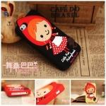 case iphone 5 เคสซิลิโคนหนูน้อยหมวกแดง เคสมือถือราคาถูกขายปลีกขายส่ง