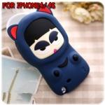 case iphone 4/4s เคสไอโฟน4/4s เคสตุ๊กตาเปลี่ยนหน้าได้ loopang