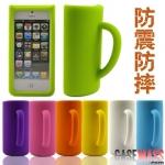 case iphone 5 เคสไอโฟน5 เคสซิลิโคนทรงเหยือกน้ำ,แก้วน้ำ,แก้วเบียร์ สีสันสดใส ใหญ่เด่นเตะตา สวยๆ น่ารักเว่อร์ๆ Korea Creative teacup