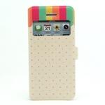 case iphone 5c เคสไอโฟน5c เคสหนังแบบบาง โชว์หน้าจอ ลายการ์ตูนน่ารักๆ ลายอาร์ตๆ ลายสวยๆ พับตั้งได้