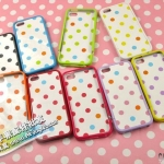 case iphone 5 เคสไอโฟน5 เคสลายจุดน่ารักแสนหวาน SGP Polka Dot