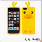 case iphone 5 เคสไอโฟน5 เจ้าเป็ดคิอิโระอิโทะริ 3D Kiiroitori silicone iphone 5 case (เพื่อนของ Rilakkuma)
