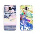 เคส Huawei Mate 9 ซิลิโคน soft case สกรีนลายแนวภาพวาดอาร์ทๆ สวยมาก ราคาถูก