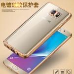 Case Samsung Note 5 ซิลิโคน TPU โปร่งใสขอบเงางาม ราคาถูก