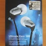 ขายหูฟัง Ultimate Ears 500 สีDark Silver สวยงาม สายแบน แฟชั่น มาครบกล่อง และ อุปกรณ์ครบครัน ในราคาเบาๆ