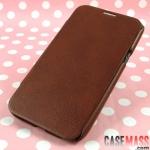 เคส Note 2 Case Samsung Galaxy Note 2 II N7100 เคสหนังฝาพับบางเฉียบ ใส่เครื่องได้โดยไม่ต้องมีเคสแข็งด้านใน Samsung about N7100 ultra-thin embossed leather