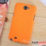 เคส Note 2 Case Samsung Galaxy Note 2 II N7100 เคสพลาสติกผิวกันลื่น สีสดๆ สวยๆ Color love non-slip surface business color solid
