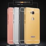 Case Huawei GR5 ขอบเคสโลหะ Bumper + พร้อมแผ่นฝาหลังเงางามสวยจับตา ราคาถูก