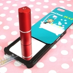 case iphone 5 เคสไอโฟน5 เคสลายการ์ตูนน่ารักๆ สไลด์แผ่นหลังเคสออกมาจะมีกระจกซ้อนอยู่ข้างใน เก๋สุดๆ The Korea Cartoon the mirror iPhone5
