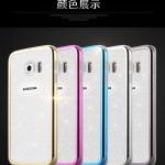 เคส Samsung S6 Edge พลาสติกขอบเงางามสวยงามมาก ราคาถูก