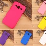 เคส SAMSUNG Galaxy J1 2016 พลาสติกสีพื้นสีสันสดใส ราคาถูก