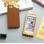 เคส iPhone 6s Plus / 6 Plus (5.5 นิ้ว) ซิลิโคน TPU มิติ ขนมเวเฟอร์น่ารักมากๆ ราคาถูก