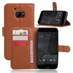 Case HTC 10 (HTC M10) แบบฝาพับด้านข้างหนังเทียมสีพื้นคลาสสิค ควรมีไว้สักอัน ราคาถูก