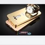 เคส Zenfone Selfie ZD551KL แบบประ 2 ชิ้น ขอบเคสโลหะ Bumper + พร้อมแผ่นฝาหลังเงางามสวยจับตา ราคาถูก