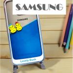 เคส Samsung Galaxy Note 4 พลาสติกเป็ดน้อยลอยน้ำน่ารักมาก ราคาถูก