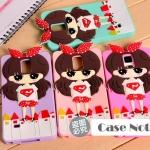 เคส note 4 Samsung Galaxy note 4 ซิลิโคนเด็กหญิงสวมเสื้อลายซุปเปอร์แมนน่ารักๆ ราคาส่ง ขายถูกสุดๆ