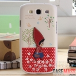 Case S3 Case Samsung Galaxy S3 i9300 HAPPYMORI ประดับตกแต่งด้วยของน่ารักๆ งาน hand-made protective shell sets couple hand made
