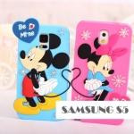 เคสซัมซุง S5 Case Samsung Galaxy S5 ซิลิโคนดิสนีย์ มอนสเตอร์ยูนิเวอร์ซิตี้ มินนี่ มิกกี้ แซลลี่ ไมค์