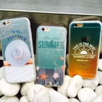 เคส iPhone 6s Plus / 6 Plus (5.5 นิ้ว) พลาสติกผิวกันลื่นสกรีนลาย summer น่ารักมากๆ ราคาถูก