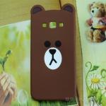 Case Samsung Galaxy A8 ซิลิโคน 3D สามมิติ หมีน้อยแสนน่ารัก ราคาส่ง ราคาถูก -B-