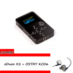 ขาย xDuoo X2 + OSTRY KC06 ชุด Combo Set ที่ดีที่สุดสำหรับการฟังเพลงของคุณ