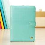 Case iPad mini เคสไอแพดมินิ เคสหนังผิวเรียบ สีหวานๆ ประดับมงกุฎ สวยๆ