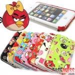 case iphone 5 เคสไอโฟน5 เคสฝาพับข้างลาย Angry Birds สีสันสดใสสวยน่ารักมากๆ