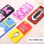 เคส iphone 5 / 5s เคสซิลิโคน ลายหางตัวการ์ตูนดิสนีย์ Winnie the Pooh,Minnie Mouse,Donald Duck,Cheshire Cat,Chip 'n' Dale Disney Series Apple iphone5s tail back five generations cartoon