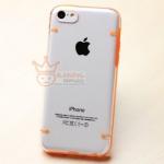 เคส iphone 5c เคสพลาสติกใส ขอบซิลิโคน สวยๆ เรียบๆ