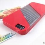 case iphone 5 เคสไอโฟน5 ซิลิโคน TPU Case แนวสปอร์ตคาดช่องใสโชว์ตัวเครื่อง