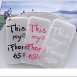 เคส iPhone SE / 5s / 5 พลาสติกผิวกันลื่นสกรีนลายคำสุดแนว ราคาส่ง ขายถูกสุดๆ