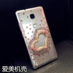 เคส Huawei GR5 พลาสติกโปร่งใสประด้บคริสตัลสวยงาม ควรมีติดตัวไว้สักอัน ราคาถูก