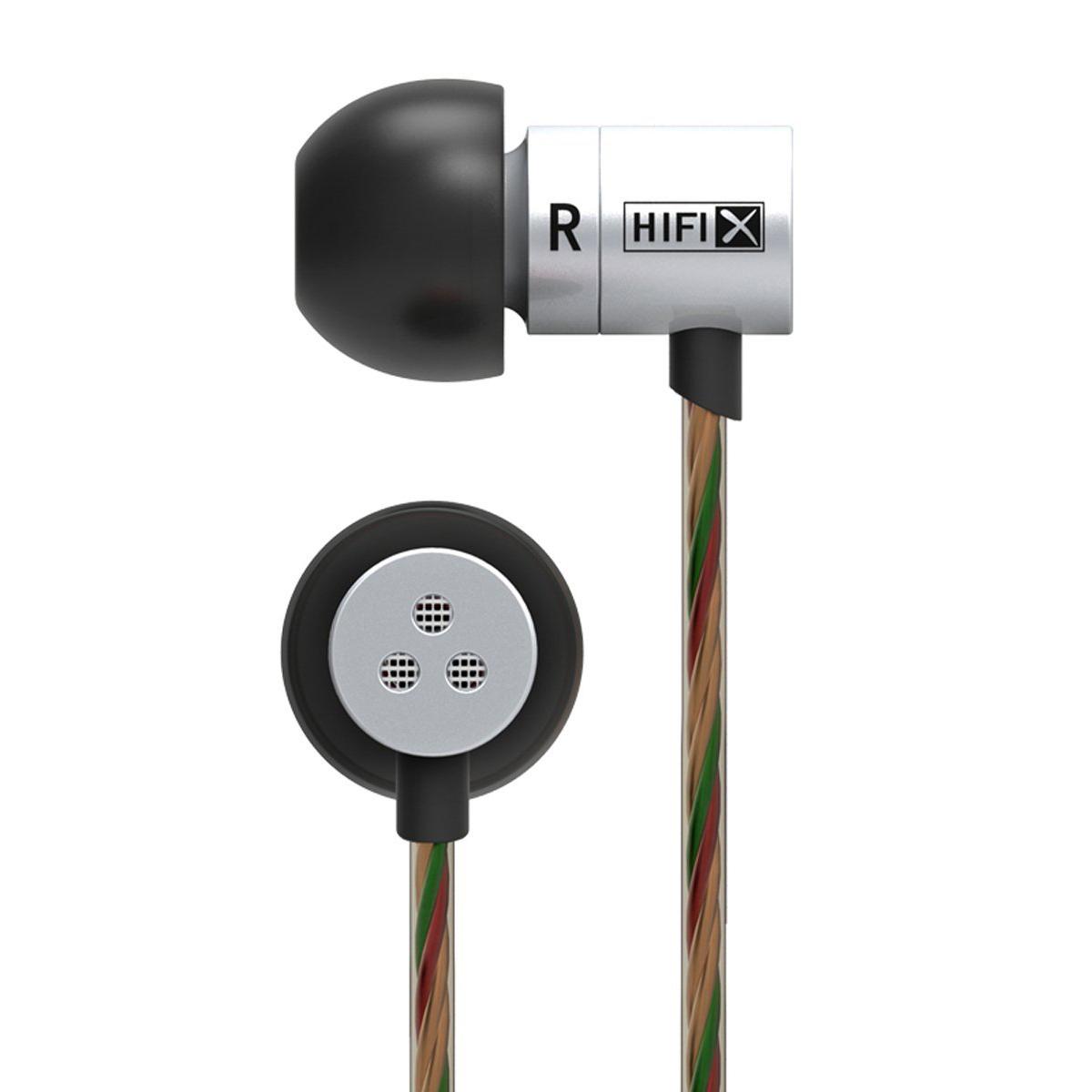 ขาย KZ HDS1 (มีไมค์ในตัว) หูฟังอินเอียร์แนวใหม่จิ๋วแต่แจ๋ว ให้คุณภาพเสียงระดับ HD (สีเงิน)