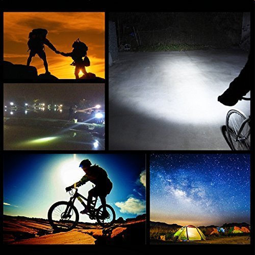 Easy to Install for Cycling Safety Flashlight Bike Lights,SGODDE USB Rechargeable Bike Light Set,Mountain Bike Light LED Bicycle Lights Rechargeable Cycle Lights