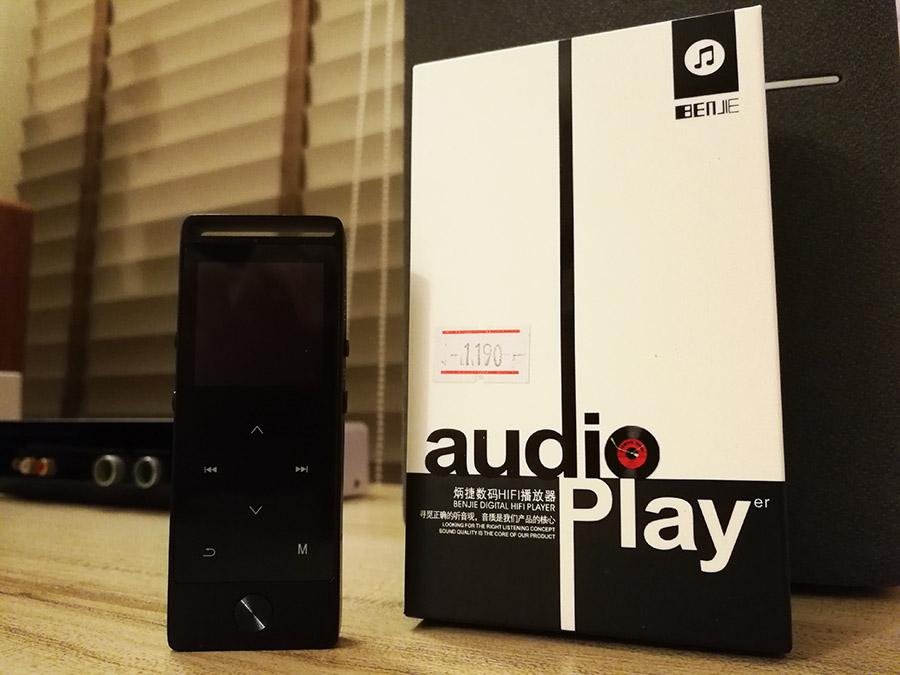 BENJIE S8 ของแท้ รับประกันศูนย์ไทย เครื่องเล่นเพลงพกพารองรับ บลูทูธ , FM  radio , บันทึกเสียงได้ , Touch Button